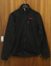 Mammut Mens Gore WIndstopper Ultimate Jacket (Slim Mid Layer) Black Size Medium