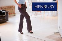 HENBURY LADIES TEFLON© COATED CHINOS (H602) - WOMENS TROUSERS GOLF  8 - 22