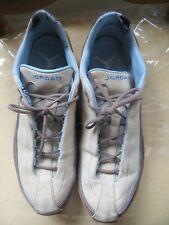 Collectible Women's Beige & Blue Michael Jordan Tennis Shoes - Size 8 1/2