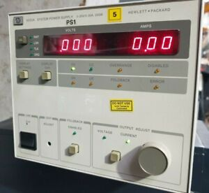 AGILENT HP 6033A SYSTEM POWER SUPPLY (R5s8.2)