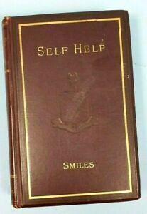 SELF HELP SAMUEL SMILE 1887 VICTORIAN NEW EDITION HARDBACK BOOK