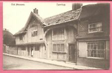 Old Houses, Tarring, Worthing, Sussex postcard.
