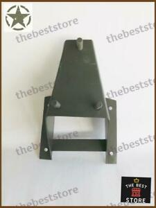 NEW WILLYS JEEP TAILGATE SPARE WHEEL CARRIER MOUNTING BRACKET (3 BOLT STYLE)