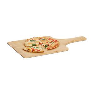 Pelle à pizza en bambou 50 cm grande planche cuisson au four pain tarte flambée