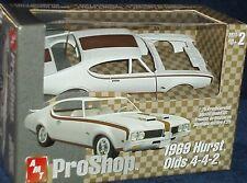AMT PRO SHOP 1969 HURST OLDS 442 1/25 PREPAINTED PLASTIC MODEL KIT OLDSMOBILE
