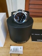 Citizen Men's Eco-Drive AR 2.0 Stainless Steel Rubber Strap Watch PER OWNED