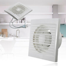 "Wall-mounted 4"" Ventilation Extractor Exhaust Fan For Kitchen Bathroom Toilet"