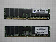 Registered Server RAM AR128V72N4SMGAS PC133 ECC 2GB (2x1GB) 168-Pin