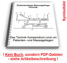 Patientenliege Massageliege selbst bauen - Behandlungsliege Technik Patente