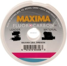 NEW Maxima Flourocarbon Leader Wheel 2lb 27yds MFCL 2