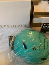 Giro Sutton Urban Cycling Helmet (Matte Turquoise , Small) Perfect City Fashion