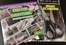 Korum Braid Scissors + Fish for Anything FREE Korum DVD