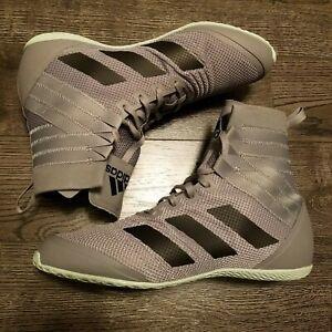 ADIDAS Speedex 18 Boxing shoes Mens 10 boots grey green EG1033