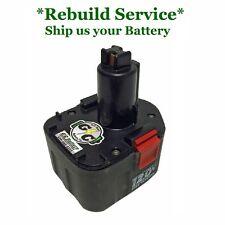 Porter Cable 12 Volt Battery 8620   REBUILD Service: WE REBUILD YOUR BATTERY