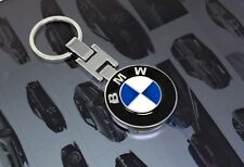 BMW Logo Keychain Metal 3 Parts Folding System Both Side Same Design