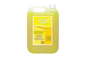 Concentrated Lemon Washing Up Liquid - Professional Catering Quality 5L