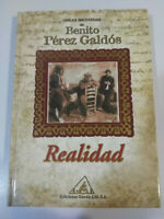Benito Perez Galdos - Reality - Book Cover Hardback Editions Wheel 2001