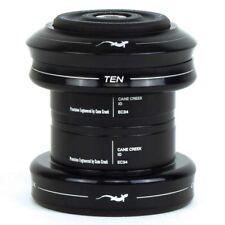 """Cane Creek 10-Series Ext. Cup Set Black 1-1/8""""-34mm Head-Tube EC34/28.6 EC34/30"""