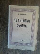 de la vie microbienne à la conscience / Jules Sageret