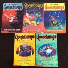 Original Goosebumps 5 Book Bundle - R.L Stine, all in good condtition, PAPERBACK