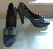Faux Suede Upper Business Standard (D) Heels for Women