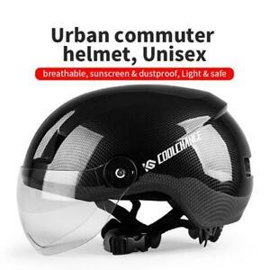 Fahrradhelm Schutzhelm mit Brille Radhelm Sport Skateboard eBike Motorrad Helme