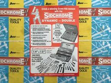 SIDCHROME Australia rare Vintage original 1987 Advertising Sales Brochure