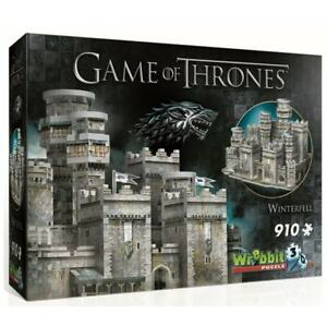 Wrebbit 3D Game of Thrones Winterfell Jigsaw Puzzle - 910 Pieces