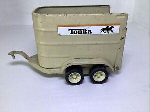 VINTAGE TONKA HORSE TRAILER - HORSE TRANSPORTER