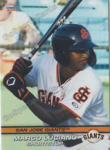 2021 San Jose Giants Marco Luciano RC Rookie San Francisco DR