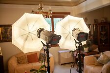 A pair of 2 Bowens Esprit Digital 750Pro Studio Flashes