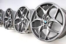 NEU 4x Original BMW X5 E70 F15 21 Zoll Alufelgen 215 Doppelspeiche ferricgrey