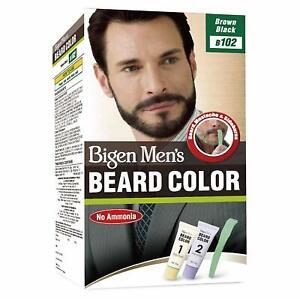 Bigen Men's Beard Color, Brownish Black B102 Beard color For men 40 GM