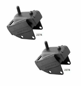 2 PCS FRONT LEFT AND RIGHT MOTOR MOUNT FIT 1965-1967 CADILLAC DEVILLE 7.0L