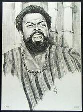 Le Roi Jones Amiri Baraka Black Movement Leader Poster Black Power Arts Panthers