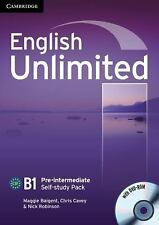 English Unlimited Pre-Intermediate Self-Study Pack (workbook With Dvd-Rom): B...