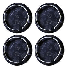 4x 50mm Plastic Wheel Center Rim Hub Caps Covers Hubcap Set Tyre Trim Car Auto