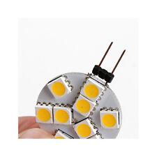 1W 250-300lm G4 2-pins LED-lampen 9 LED-kralen SMD 5050 Warm wit 12V