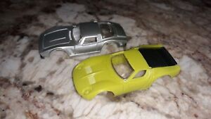 2 Vintage Tyco Slot Car ~ Bodies Only