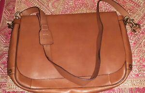 Polo Ralph Lauren Leather Messenger bag TAN