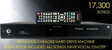 VIETNAMESE HARD DRIVE KARAOKE PLAYER - 17,300 SONGS - 12M WARRANTY - AU LOCAL