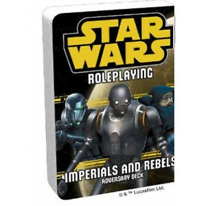 Star Wars RPG Imperials and Rebels III Adversary Deck
