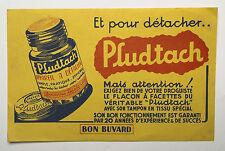 BUVARD PUBLICITAIRE ANCIEN : PLUDTACH