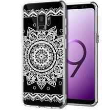 Schutz Hülle Samsung Galaxy S9 Plus Hülle Silikon Handy Tasche Henna Case Cover