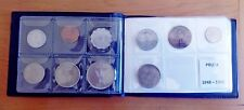 Complete Israel 36 coin set 1949 > Now Pruta/Lira/Sheqel/New Shekel in Album