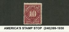 US 10 cent Postage Due J35 1894 Perf 12 unwatermarked OGMNH F/VF Wow! 8