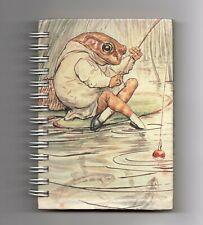 "Mr Toad Mini Notebook Beatrix Potter The Wind in the Willows 5"" x 4 Lined Sheets"