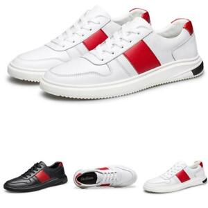 Mens Leisure Sneakers Shoes Trail Walking Sports Gym Fats Breathable Non-slip