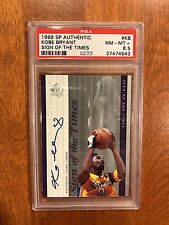 Kobe Bryant Sign of the Times Autograph! PSA 8.5!
