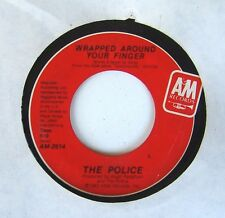 """The Police - Sting - Wrapped Around Your Finger / Tea in Sahara 7"""" 45 A&M Record"""